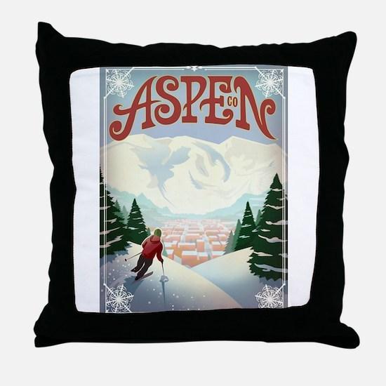 Aspen Paradise Throw Pillow