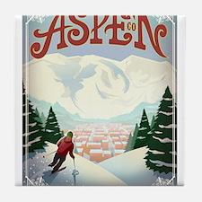 Aspen Paradise Tile Coaster