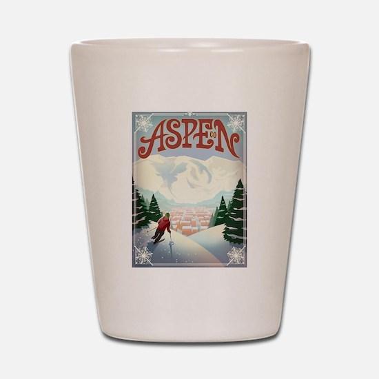 Aspen Paradise Shot Glass