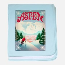 Aspen Paradise baby blanket