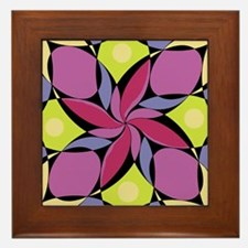 Geometric Design #9 Framed Tile