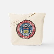 Aged Colorado Seal Tote Bag
