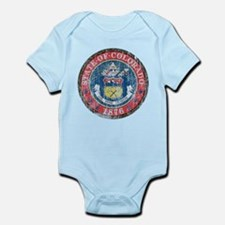 Aged Colorado Seal Infant Bodysuit
