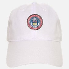 Aged Colorado Seal Baseball Baseball Cap