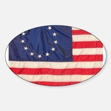 AMERICAN COLONIAL FLAG Decal