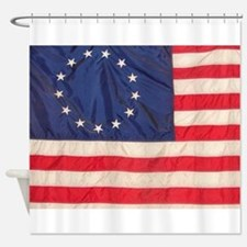 AMERICAN COLONIAL FLAG Shower Curtain