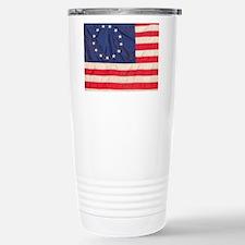 AMERICAN COLONIAL FLAG Stainless Steel Travel Mug