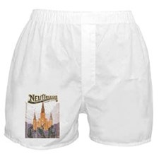Faded French Quarter Boxer Shorts