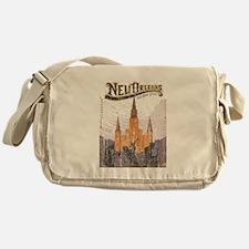 Faded French Quarter Messenger Bag