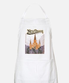 Faded French Quarter Apron