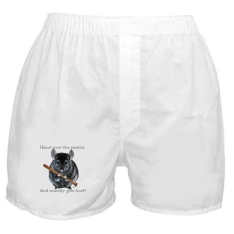 Chin Raisin Boxer Shorts