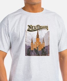 Faded French Quarter T-Shirt