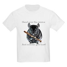 Chin Raisin Kids T-Shirt