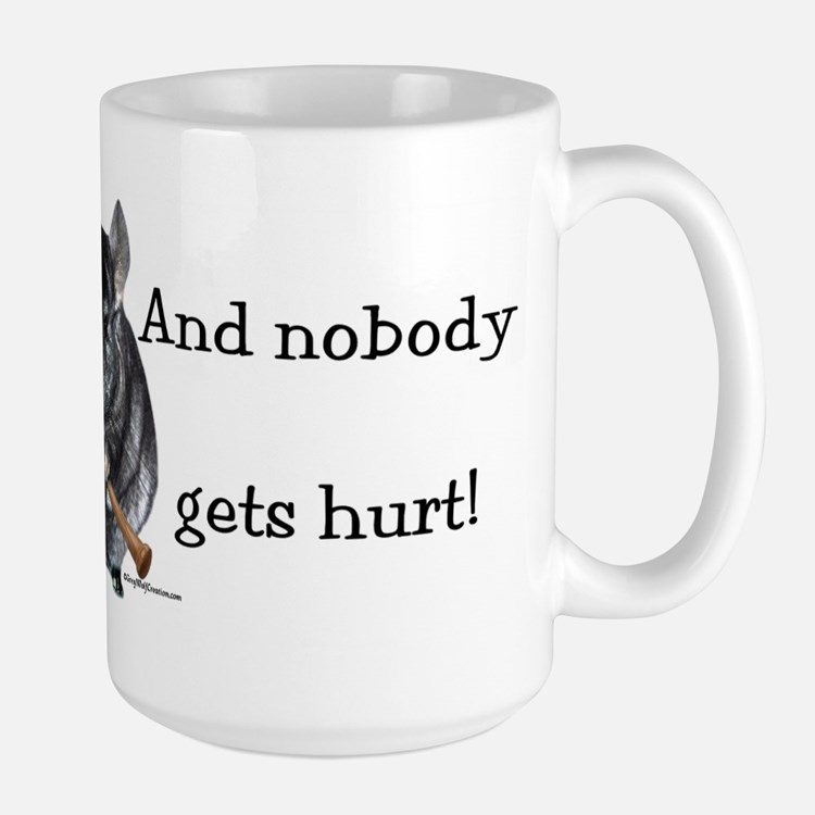 Chin Raisin Large Mug