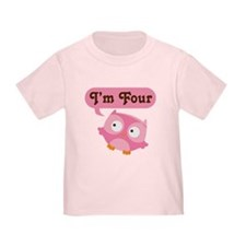 4th Birthday Owl T