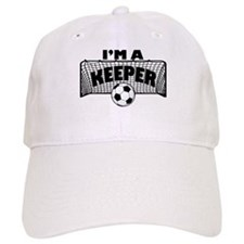 Im a Keeper soccer copy.png Baseball Baseball Cap