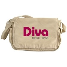 Diva Since 1988 Messenger Bag