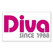 Diva Since 1988 Decal