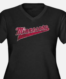 Faded Minnesota Plus Size T-Shirt