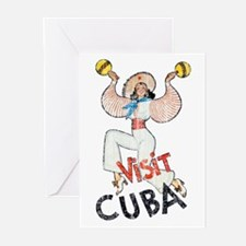 Vintage Visit Cuba Greeting Cards (Pk of 20)