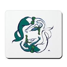 Pisces Mermaids Mousepad