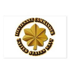 Navy - LCDR Postcards (Package of 8)