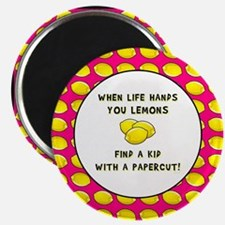FIND A KID WITH A PAPERCUT Magnet