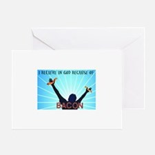 Bacon Belief Greeting Card