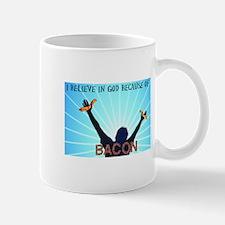 Bacon Belief Mug