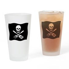 Grill Pirate Drinking Glass