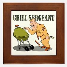 Grill Sergeant<br>Wood & Ceramic Hot Pad