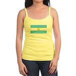 Argentina Blank Flag Jr. Spaghetti Tank