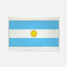 Argentina Blank Flag Rectangle Magnet