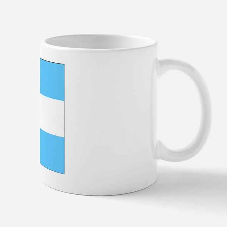 Argentina Blank Flag Mug