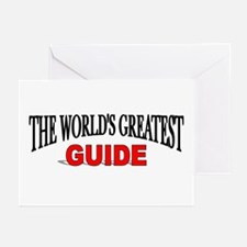 """""""The World's Greatest Guide"""" Greeting Cards (Packa"""