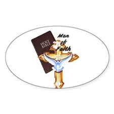 Man of Faith filled with Holy Spirit Decal