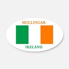 Mullingar Ireland Oval Car Magnet
