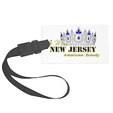 Jr. Miss New Jersey Luggage Tag