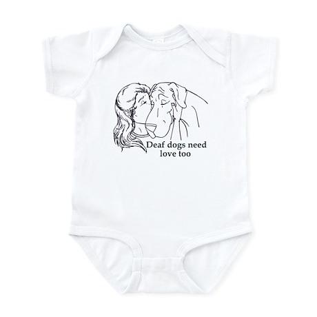 DD love too Infant Bodysuit