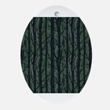 Forest Enchantment Ornament (Oval)