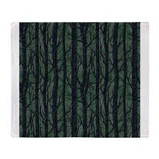 Forest Enchantment Throw Blanket