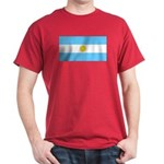 Argentina Blank Flag Red TShirt