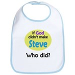 Who Made Steve? Bib