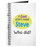 Who Made Steve? Journal