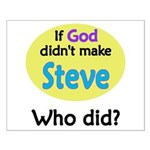 Who Made Steve? Small Poster