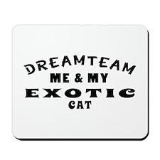 Exotic Cat Designs Mousepad