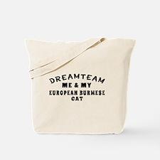 European Burmese Cat Designs Tote Bag