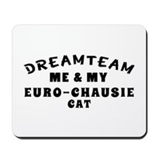 Euro-chausie Cat Designs Mousepad