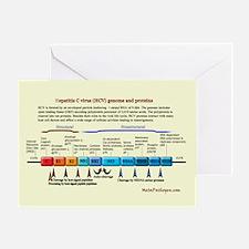 Hepatitis C Virus Greeting Card