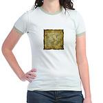 Celtic Letter F Jr. Ringer T-Shirt